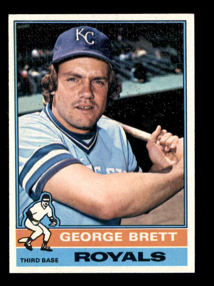 1976 Topps Baseball Complete Set 660 Cards VG//EX Condition