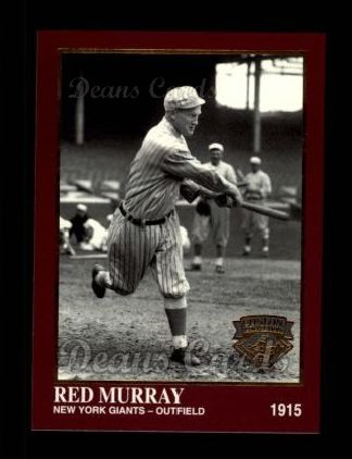 1994 Conlon Burgundy #1049  Red Murray