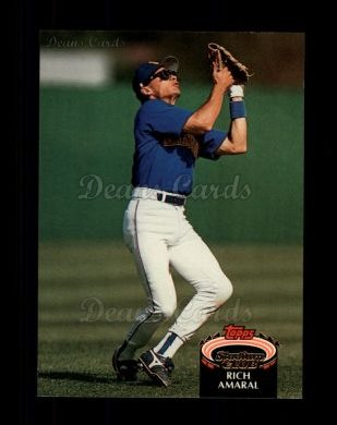 1992 Topps Stadium Club #689  Rich Amaral