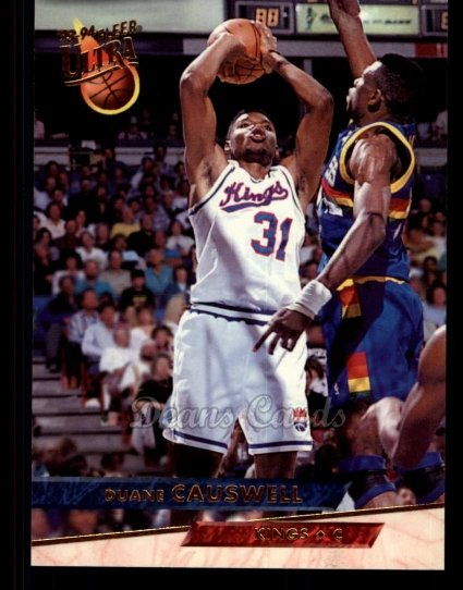 1993 Fleer Ultra #160  Duane Causwell
