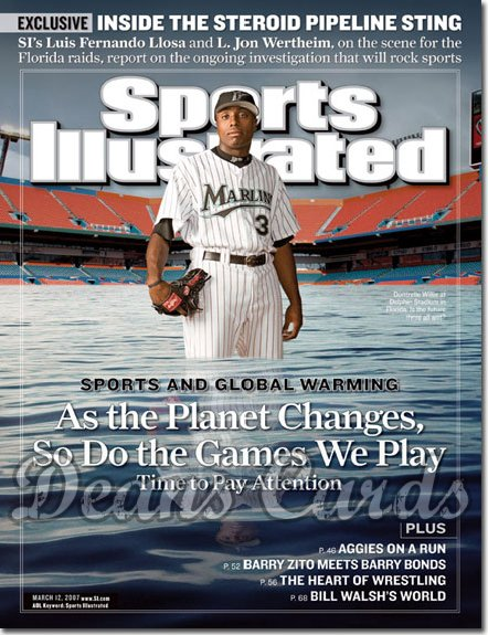 2007 Sports Illustrated - With Label   March 12  -  Dontrell Willis Marlins