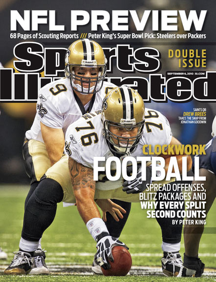 2010 Sports Illustrated - With Label   September 6  -  NFL Preview