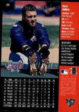 1998 Upper Deck #24  Dave Hollins