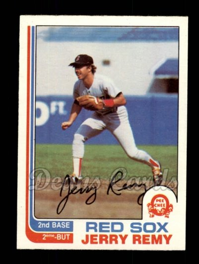 1982 O-Pee-Chee #25  Jerry Remy