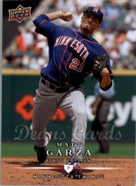 2008 Upper Deck First Edition #225  Matt Garza