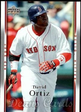 2007 Upper Deck #590  David Ortiz