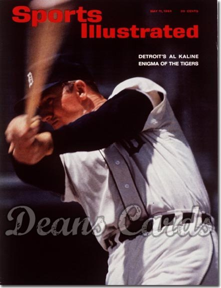 1964 Sports Illustrated - With Label   May 11  -  Al Kaline (Detroit Tigers)