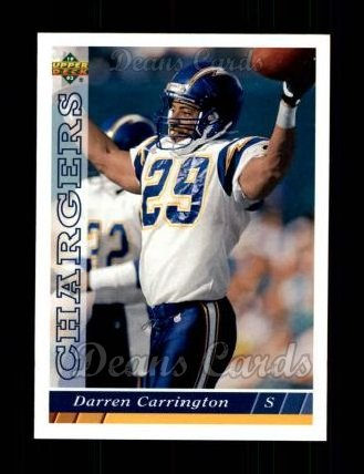 1993 Upper Deck #508  Darren Carrington