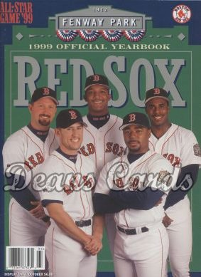 eab811dc4 1999 Boston Red Sox Yearbook - Nomar Garciaparra/Pedro Martinez/ 6