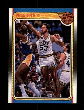 1988 Fleer #131   -  Mark Eaton All-Star