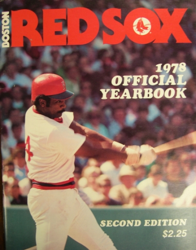 1978 Boston Red Sox Yearbook - Revised