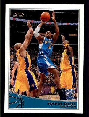 2009 Topps #186  David West