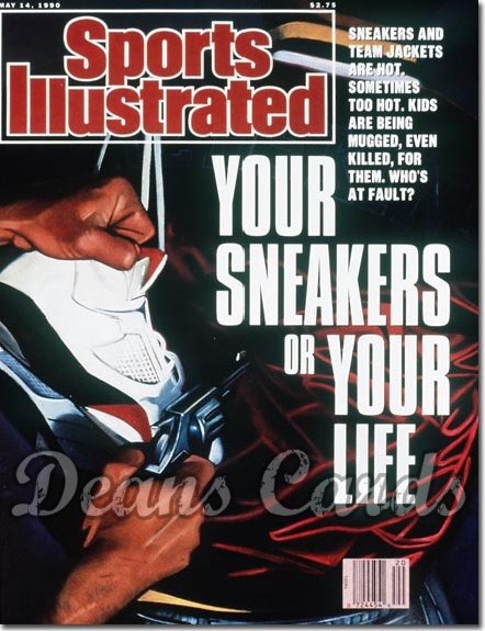1990 Sports Illustrated - With Label   May 14  -  Sneakers