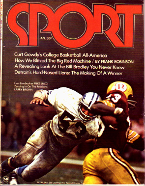 1971 Sport Magazine   -  Larry Brown / Mike Lucci  January