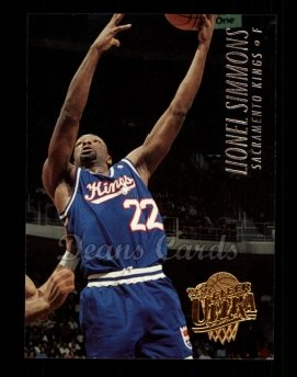 1994 Fleer Ultra #167  Lionel Simmons
