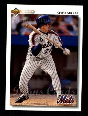 1992 Upper Deck #383  Keith Miller