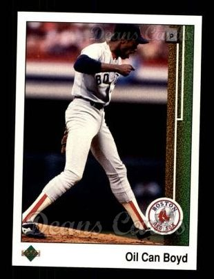 1989 Upper Deck #415  Oil Can Boyd