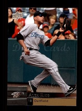 2009 Upper Deck #922  Alex Rios