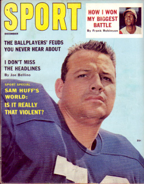 1961 Sport Magazine   -  Sam Huff  December