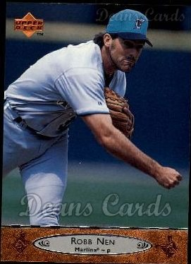 1996 Upper Deck #337  Robb Nen