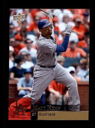 2009 Upper Deck #195  Matt Kemp