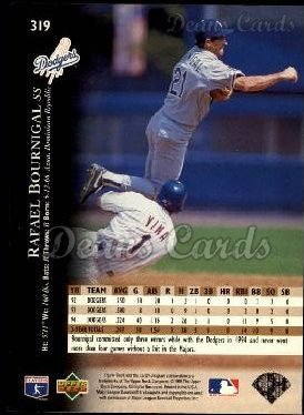 1995 Upper Deck #319  Rafael Bournigal
