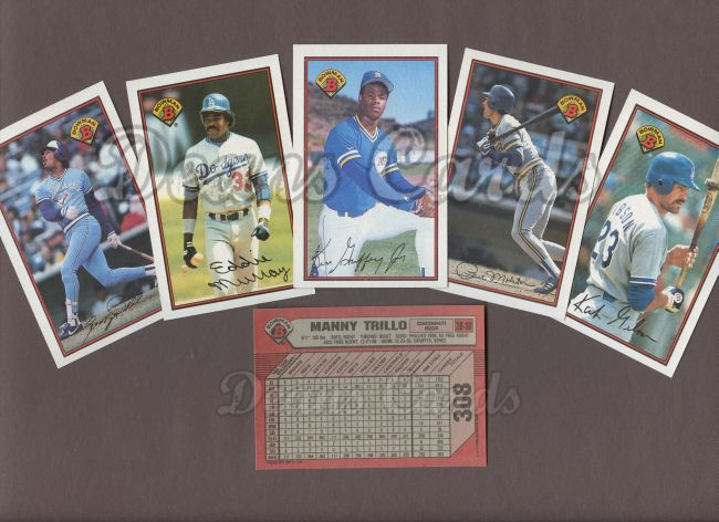 1989 Bowman 1989 Bowman Baseball Complete Set