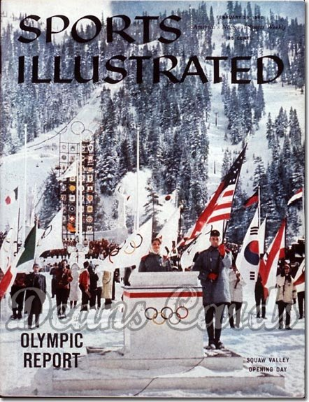 1960 Sports Illustrated - With Label   February 29  -  Squaw Valley