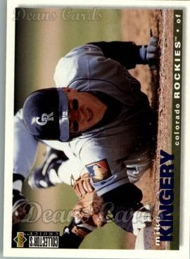 1995 Upper Deck Collector's Choice #441  Mike Kingery