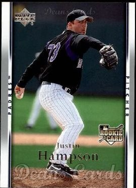 2007 Upper Deck #14  Justin Hampson