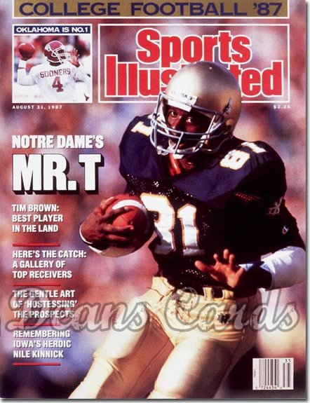 separation shoes 4bed1 348d5 1987 Sports Illustrated - With Label # August 31 1987 - Tim ...