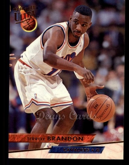 1993 Fleer Ultra #35  Terrell Brandon
