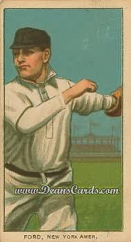 1909 T206 Reprint #177  Russ Ford
