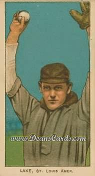 1909 T206 Reprint #274 BALL Joe Lake