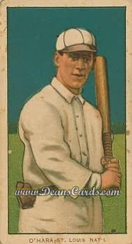 1909 T206 Reprint #365 STL Bill O'Hara