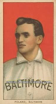 1909 T206 Reprint #396  Phil Poland