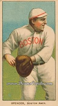 1909 T206 Reprint #459  Tubby Spencer