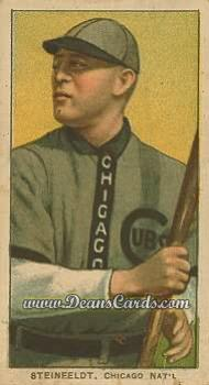 1909 T206 Reprint #465 BAT Harry Steinfeldt