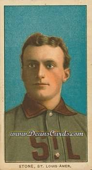 1909 T206 Reprint #468  George Stone