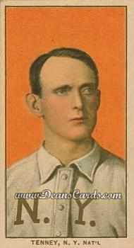 1909 T206 Reprint #482  Fred Tenney
