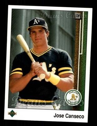 1989 Upper Deck #371  Jose Canseco