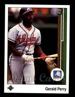 1989 Upper Deck #431  Gerald Perry