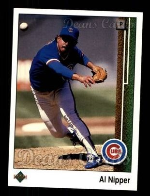 1989 Upper Deck #494  Al Nipper
