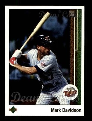 1989 Upper Deck #577  Mark Davidson