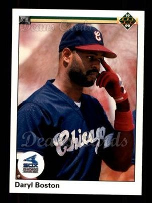 1990 Upper Deck #529  Daryl Boston