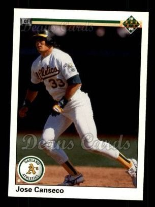 1990 Upper Deck #66  Jose Canseco