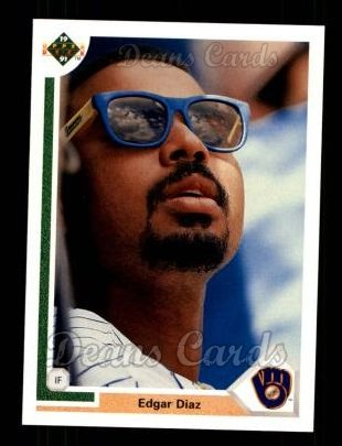 1991 Upper Deck #286  Edgar Diaz