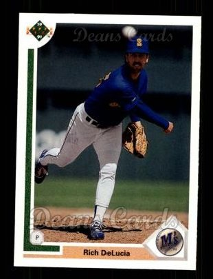 1991 Upper Deck #727  Rich DeLucia
