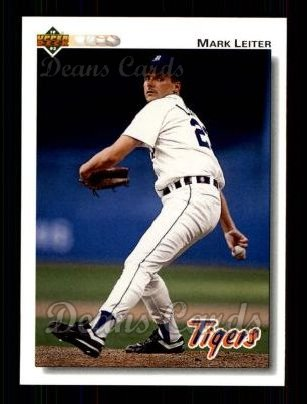 1992 Upper Deck #319  Mark Leiter
