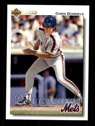 1992 Upper Deck #44  Chris Donnels